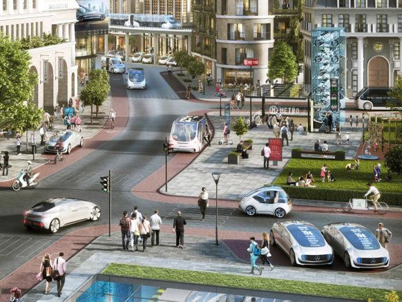 Mercedes-Benz annonce l'arrivée de ses taxis sans chauffeur dans seulement 3 ans