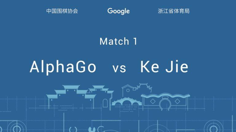 AlphaGo vient de remporter le premier match contre Ke Jie, le meilleur joueur de Go au monde