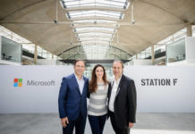 intelligence artificielle, start-up, Station F, Microsoft