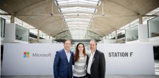 intelligence artificielle, start-up, Station F, Microsoft