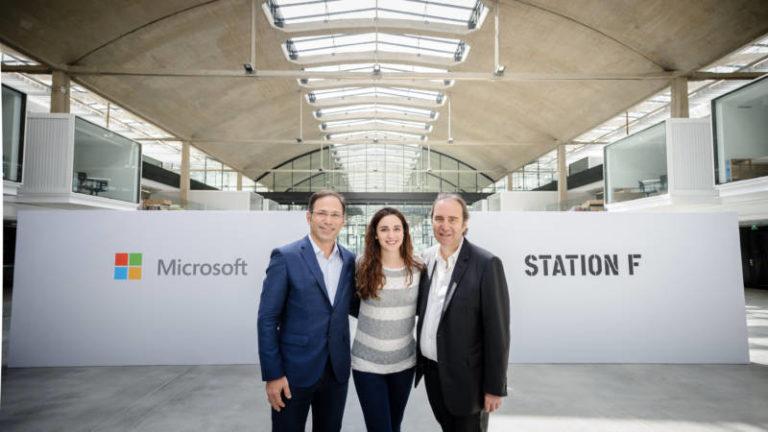 Microsoft et l'Inria ouvriront un espace commun au sein de l'incubateur numérique 'Station F'