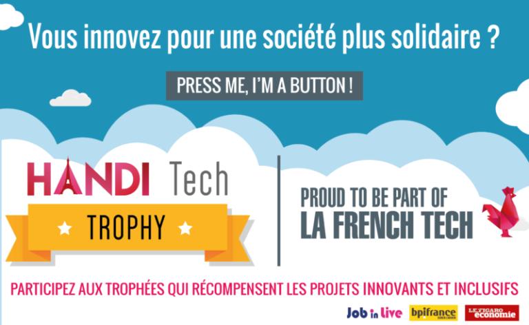 Découvrez les 7 lauréats du Handi Tech Trophy et leurs solutions innovantes