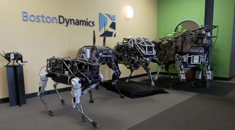 Boston Dynamics et ses célèbres robots viennent d'être rachetés par Softbank Group