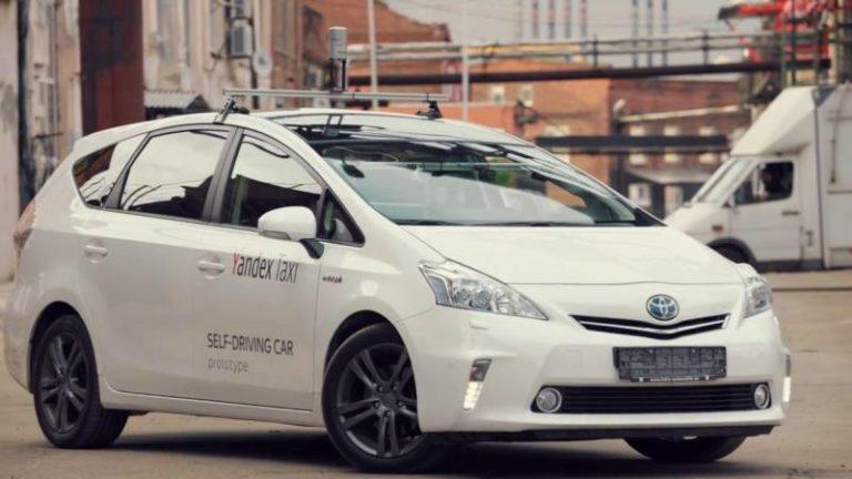 La société russe Yandex présente un premier prototype de taxi sans conducteur avec un niveau d'autonomie 5