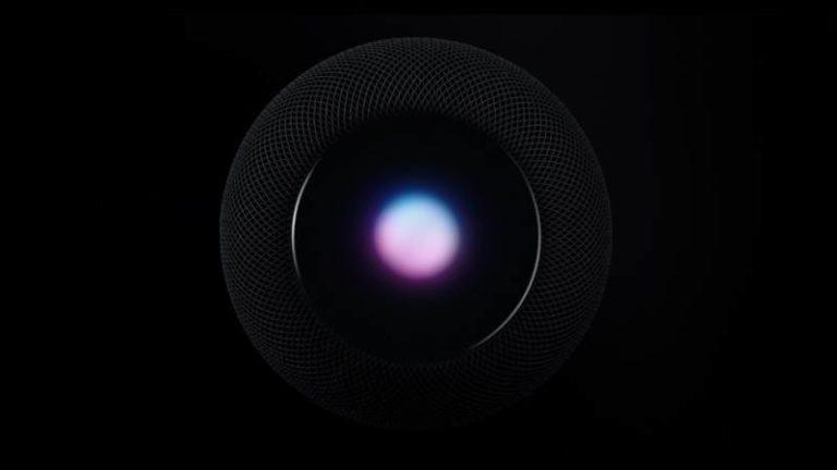Apple présente HomePod, son enceinte artificielle équipée de l'intelligence artificielle de la marque