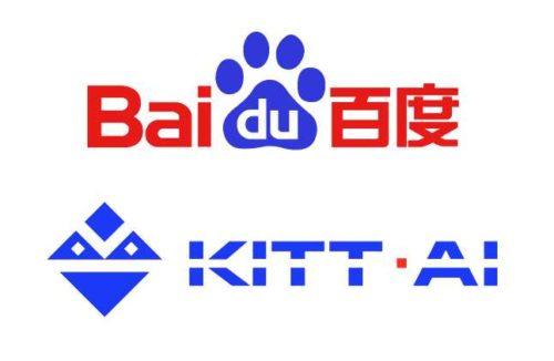 Baidu annonce une collaboration avec TomTom et l'acquisition de Kitt.ai