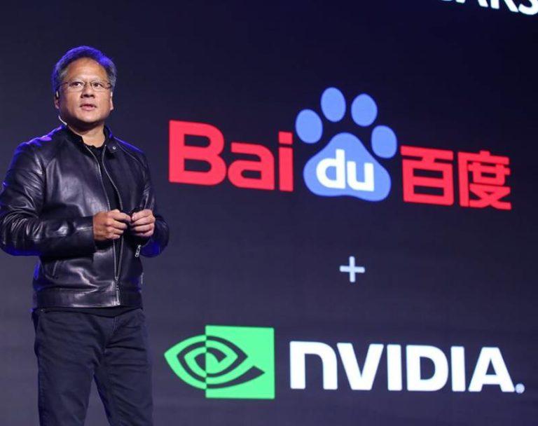 Partenariat entre Baidu et Nvidia pour 'accélérer' l'intelligence artificielle