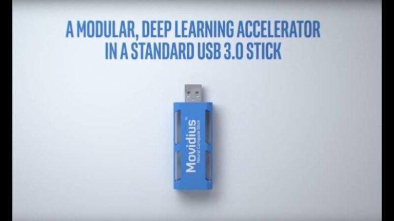 Movidius propose de l'intelligence artificielle Plug&Play sous forme de clef USB