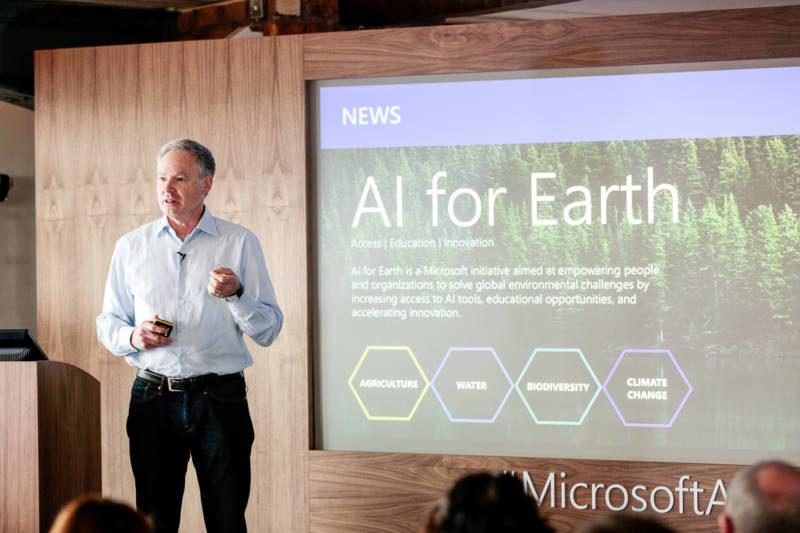 Microsoft 'Future of AI' Event