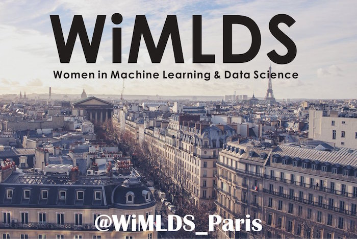 Le 28 septembre se tiendra le Women in Machine Learning and Data Science Paris meetup