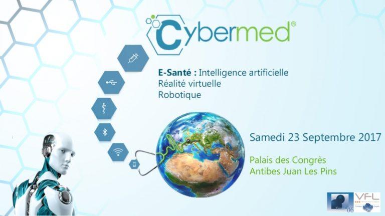 Forum Cybermed 2017: Toutes les innovations en cybermédecine le 23 septembre 2017 à Juan Les Pins