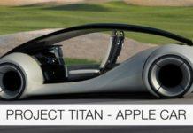 véhicule autonome, conduite autonome, Apple, Titan