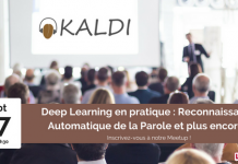 deep learning, machine learning, reconnaissance automatique de la parole