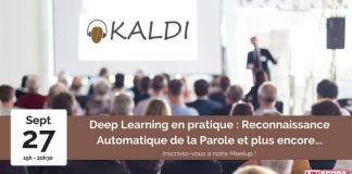deep learning, machine learning, reconnaissance automatique de la parole