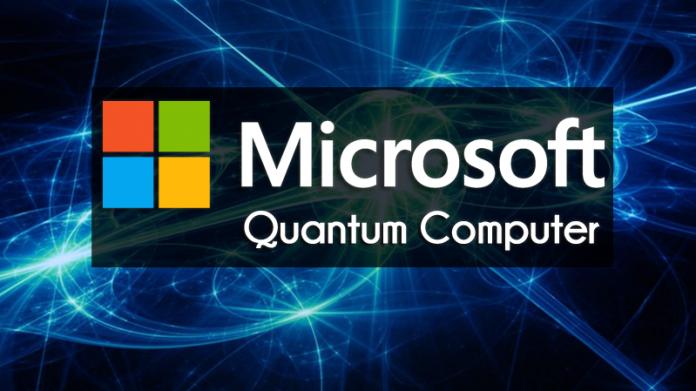 Microsoft Quantum informatique quantique