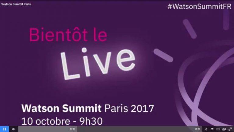 Watson Summit Paris 2017: IoT et IA, le mariage du siècle