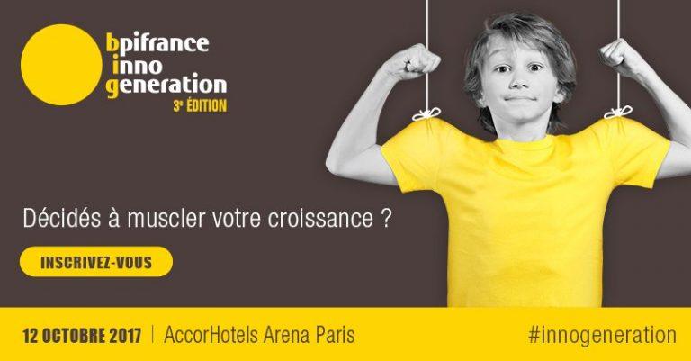 BpiFrance Inno Génération 3, le plus grand rassemblement d'entrepreneurs d'Europe, c'est aujourd'hui