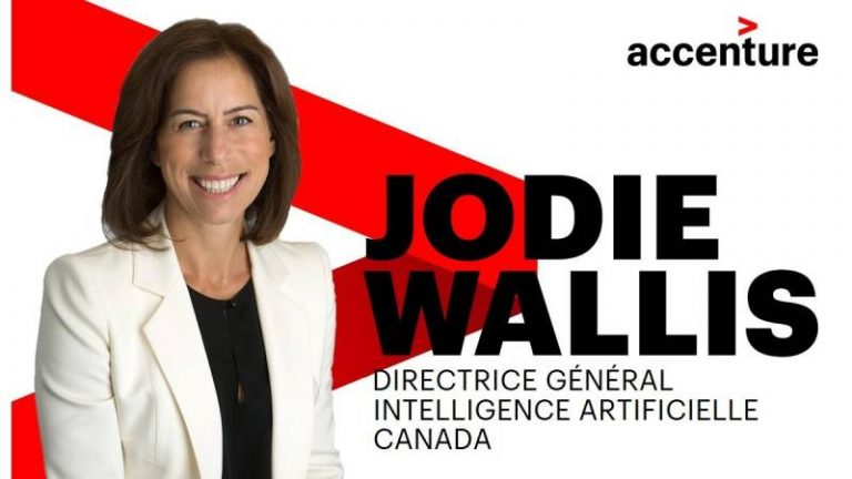 Interview de Jodie Wallis, Directrice générale, Intelligence artificielle d'Accenture pour le Canada