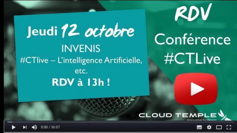 La start-up Invenis parle IA et Big data en live à 13h sur CTLive