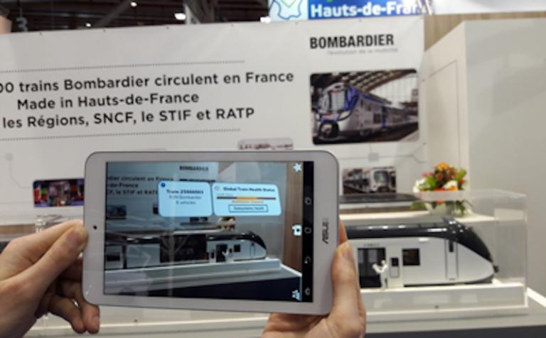 Bombardier ouvre un centre R&D sur le transport augmenté à Valenciennes