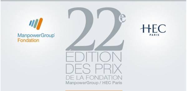 Corporate hacking, robot, intelligence artificielle : découvrez les lauréats des Prix de la Fondation ManpowerGroup / HEC Paris