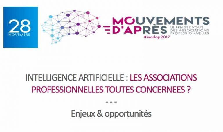 La 2e édition du Modap sera consacrée à l'intelligence artificielle le 28 novembre prochain