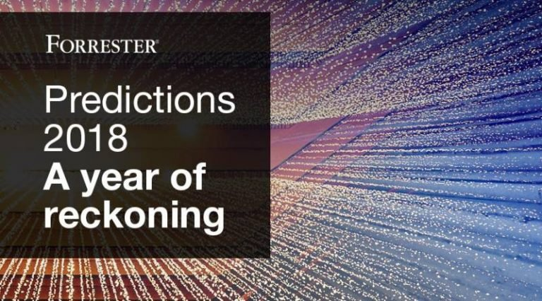 2018, une année clé pour l'intelligence artificielle et les entreprises selon l'étude Forrester
