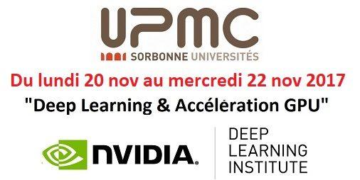 Carte Accord Upmc.Deep Learning Acceleration Gpu A L Upmc Les 20 21 Et 22