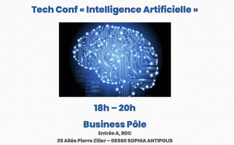 La Tech Conf revient pour une soirée « Intelligence Artificielle » à Sophia Antipolis le 14 décembre