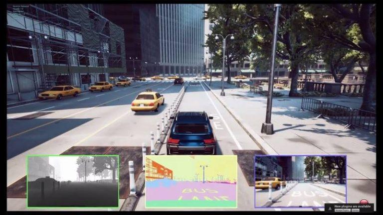 Microsoft étend AirSim, son projet de recherche IA, au véhicule autonome