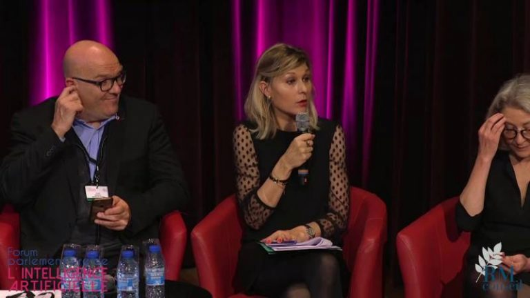 Table ronde: Comment faire de la France un leader mondial de l'intelligence artificielle? au Forum IA