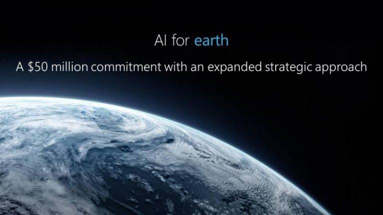 Microsoft investit 50 millions de dollars dans un programme contre le changement climatique