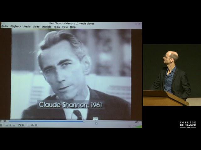 """""""Traduction et traitement de la langue naturelle"""" – Séminaire de Holger Schwenk du FAIR – Paris au Collège de France"""
