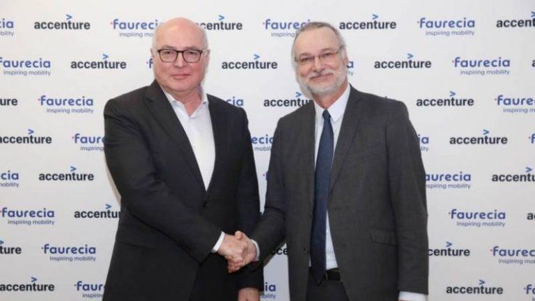 Faurecia et Accenture s'allient pour réinventer l'expérience à bord des véhicules connectés et autonomes