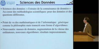 science des données, collège de France