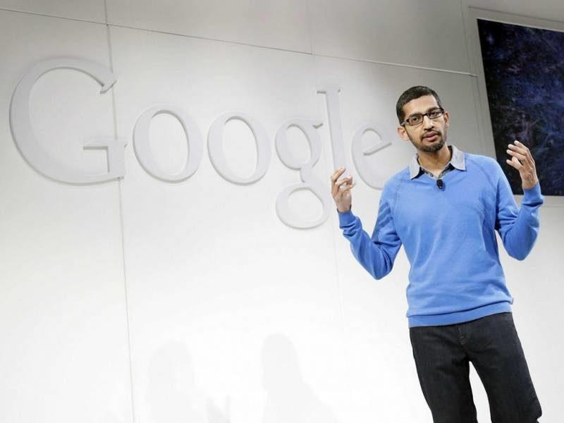 Google, feu, électricité