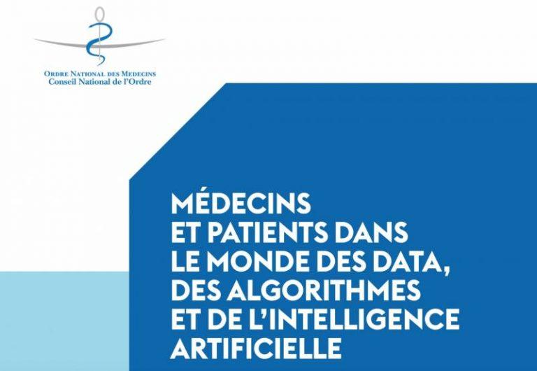 Data, algorithmes et IA : les recommandations du Conseil national de l'Ordre des médecins