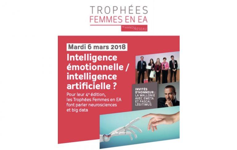 """La 4e édition des Trophées Femmes en EA aura pour thématique """"Intelligence émotionnelle / intelligence artificielle"""""""