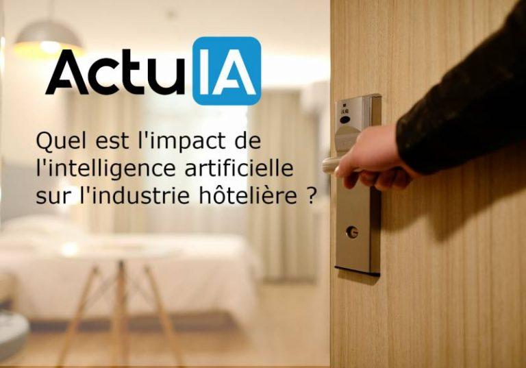 Quel sera l'impact de l'intelligence artificielle sur l'hôtellerie?