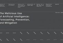 malicious use of AI