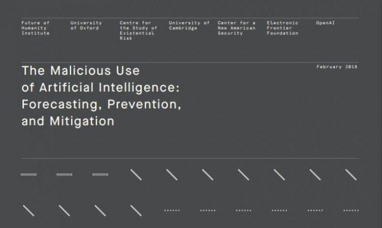 Des experts nous alertent : l'intelligence artificielle pourrait tomber entre de mauvaises mains : vraiment ? (Éditorial)