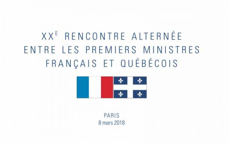 Québec / France : une feuille de route dédiée à la croissance, l'innovation, le numérique et l'intelligence artificielle