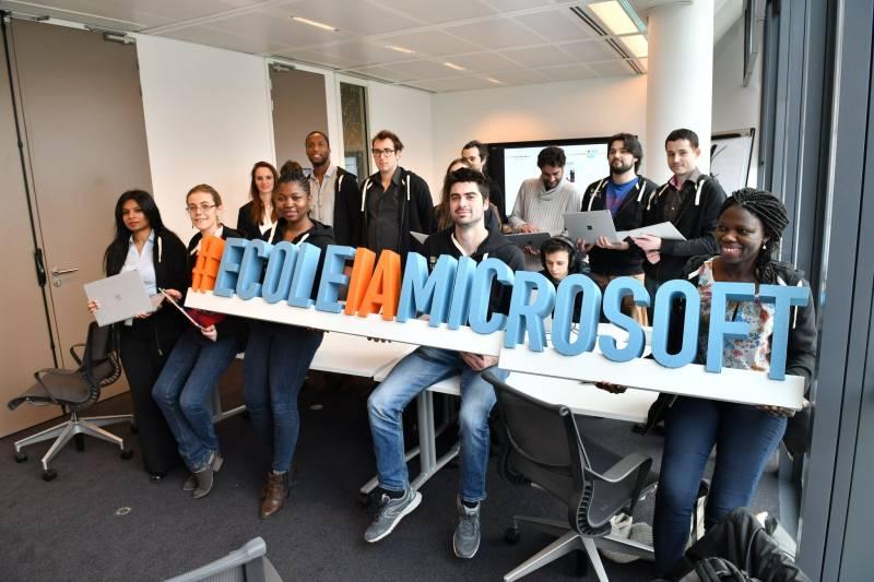Microsoft ouvre une école en France — Intelligence artificielle