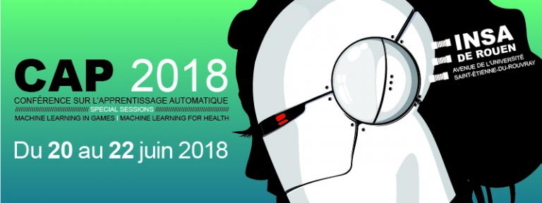 Appel à papiers pour la conférence sur l'Apprentissage Automatique CAp 2018