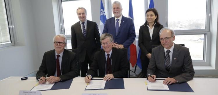L'intelligence artificielle, axe principal du partenariat stratégique franco-québécois de l'IRT, du CRIAQ et d'IVADO
