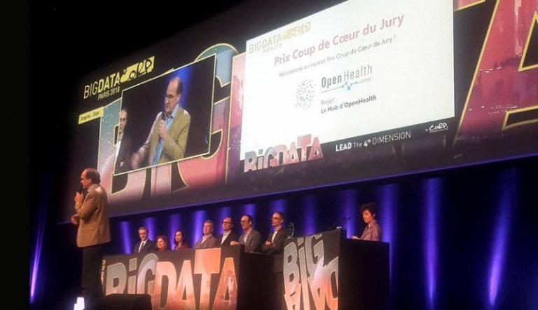 Santé et IA : Focus sur OpenHealth Company qui a remporté le Prix Coup de Coeur du jury du salon Big Data Paris 2018