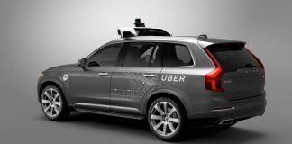 Véhicule autonome Uber