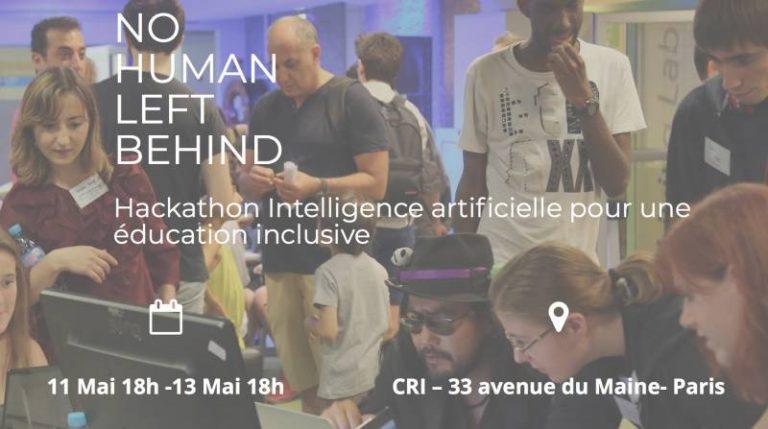 Le CRI organise 'No Human Left Behind', un Hackathon Intelligence artificielle pour une éducation inclusive
