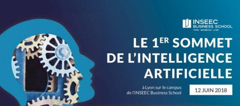 L'INSEEC organise son 1er sommet de l'intelligence artificielle le 12 juin 2018