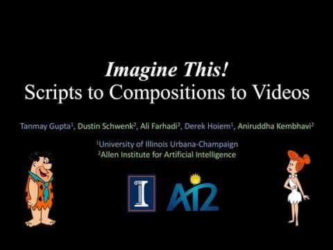 Une intelligence artificielle créé des dessins animés des Pierrafeu à partir de descriptions textuelles